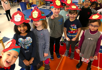 Welcoming the firefighter!