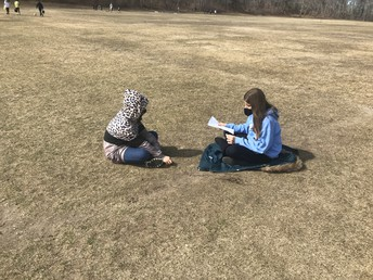 Students Studying for a test during FAT
