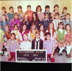 Did you know?! Ms. Barrell and Penngrove School go WAY back!