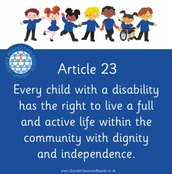 UNICEF Definition of Article 23
