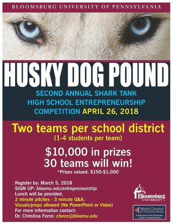 BU HUSKY DOG POUND COMPETITION
