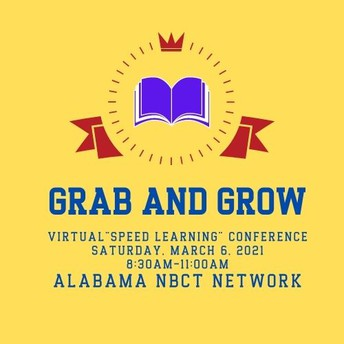 2021 Alabama NBCT Conference (VIRTUAL)--RESCHEDULED FOR MARCH 6
