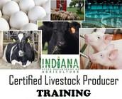 Certified Livestock Producer Training in Greensburg - June 19, 2017