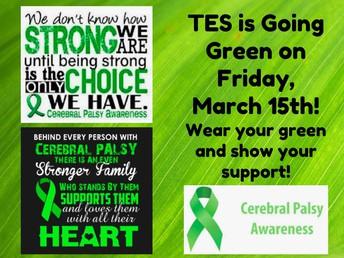 CP Awareness Day - 3/15/19