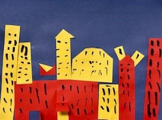 """""""Primary Color Cityscape"""""""