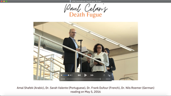 """Death Fugue"""