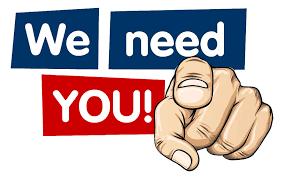 Volunteers Needed....