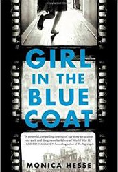 Book Review: Girl in the Blue Coat by Monica Hesse
