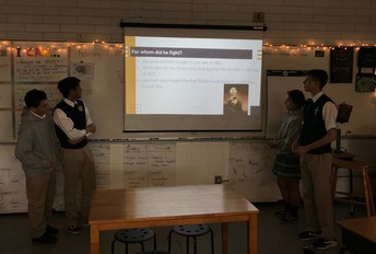 8th Grade Heroes of 1812 Presentation!