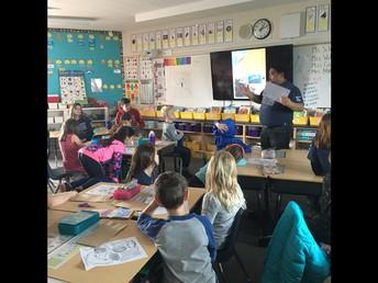 Mr Tacata at La Tercera Elementary...