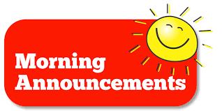 Morning Job Site Announcement w/Mrs. Cox-Jones & Mrs. Nekola