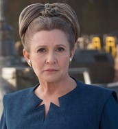 Sad Last Appearance by Carrie Fisher as Leia