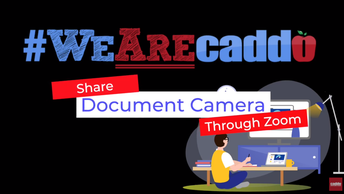 Document Camera Sharing in Zoom