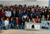 Hoffman's Economic Students visit the Federal Reserve