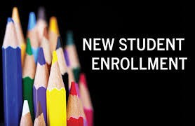New Student Enrollment for 2021-2022 continues