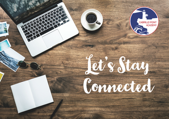 Let's stay connected over summer!