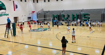 Lady T-wolves Prepare to Face Crosstown Rival, Vista High in Volleyball