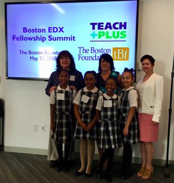 Boston EDX Fellowship Summit with Teach Plus and The Boston Foundation