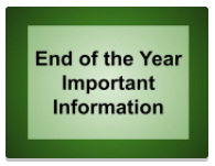 End of Year Information from Dr. Flansburg