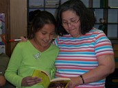 Dora Hugs--St. Charles Mission School