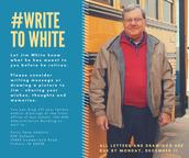 #WriteToWhite