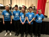 SCMBDA Honor Band Students