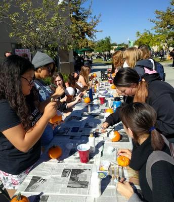 PLUS hosts pumpkin party