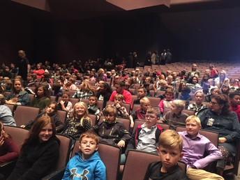 3rd grade Students attend Symphony Performance
