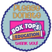 Don't throw away money!  Save your Box Tops!
