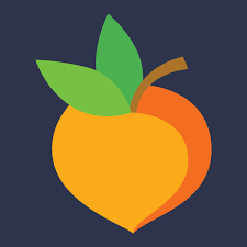 Graphic of a peach
