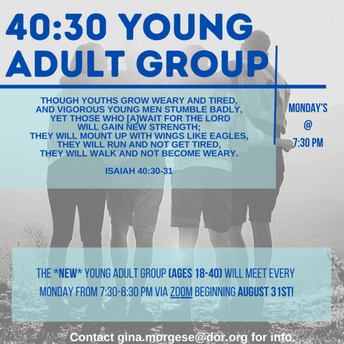 40:30 Young Adult Group