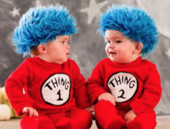 MONDAY: TWIN DAY