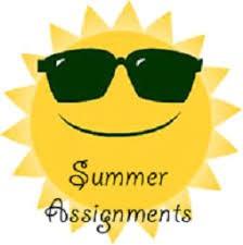 Summer Assignment Packets