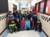Ms. C. Salinas's third grade class.