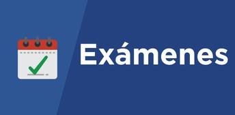 Calendarios de examenes