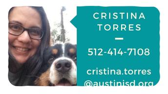 Cristina Torres-8th grade Counselor