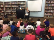 Mayor Cunningham talks with 2nd grade