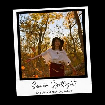 Joy Fulford - Senior Spotlight