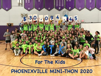 PAHS Mini THON raised a record-breaking $30,000+