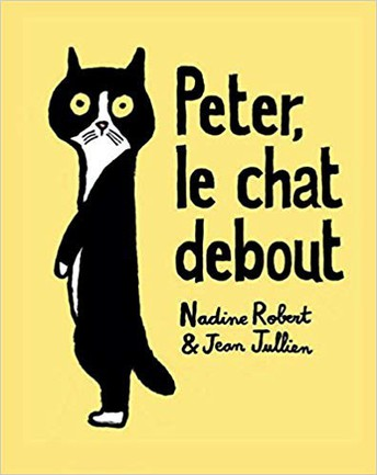 Peter, le chat debout