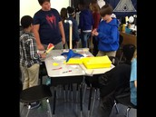 Students Build Windmills