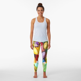 Funky Leggings by Susan Spellman cann