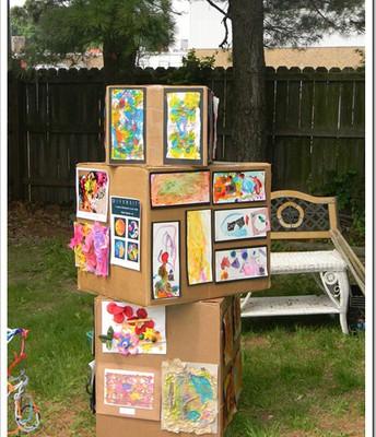 Hold a neighborhood art show!