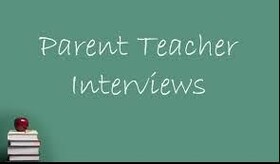 Parent-Teacher Interviews - November 9-10 (4:30-7:30)