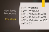 We have adopted a new tardy procedure for the 2017-2018 school year.