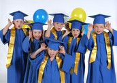 April 27 - Kindergarten Graduation Pictures