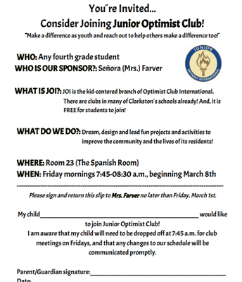 Junior Optimist Club