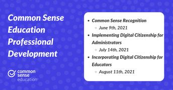 National Common Sense Education :    1-Hour Interactive Summer Workshops