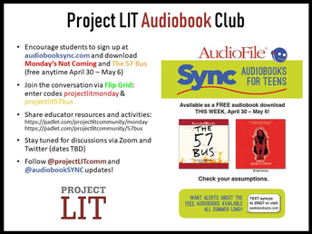 Project LIT Audiobook Club