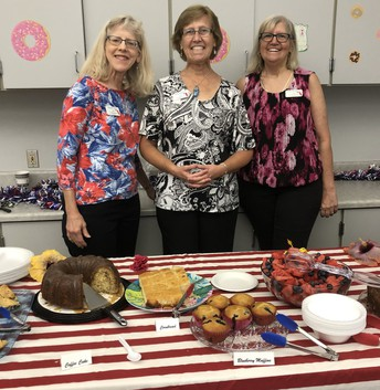 Thank you, Daughters of the American Revolution, for amazing treats!
